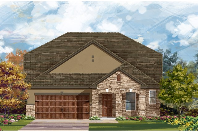 New Homes in Georgetown, TX - Plan 2655 D