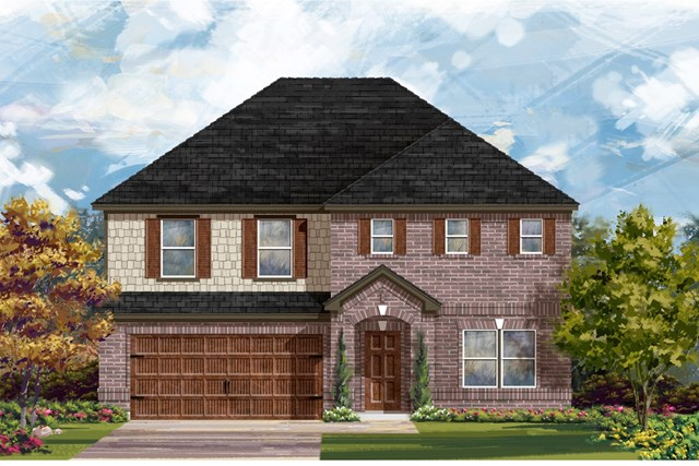 New Homes in Georgetown, TX - Plan 2881 A