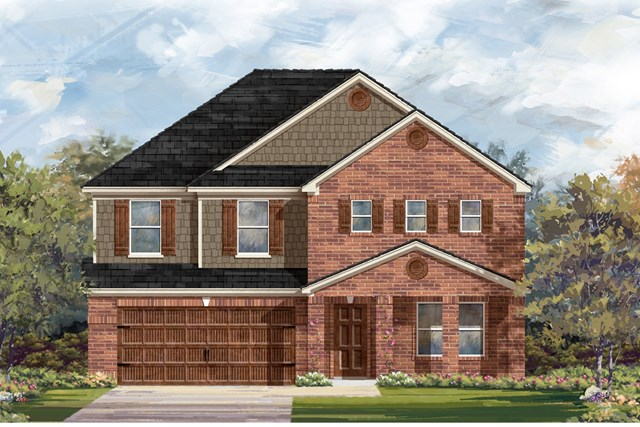 New Homes in Georgetown, TX - Plan 2881 B