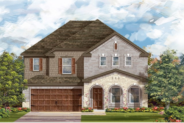 New Homes in Georgetown, TX - Plan 2881 C