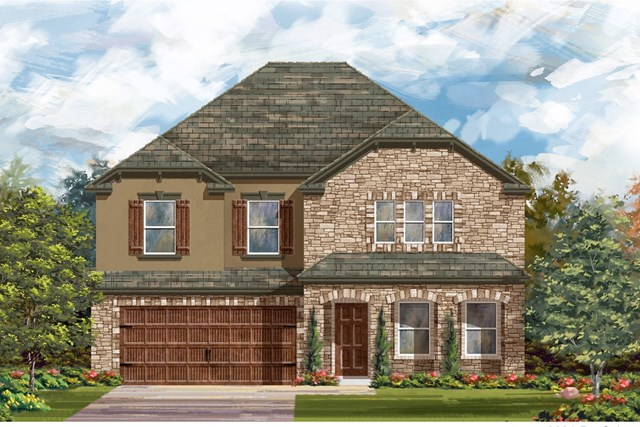 New Homes in Georgetown, TX - Plan 2881 D
