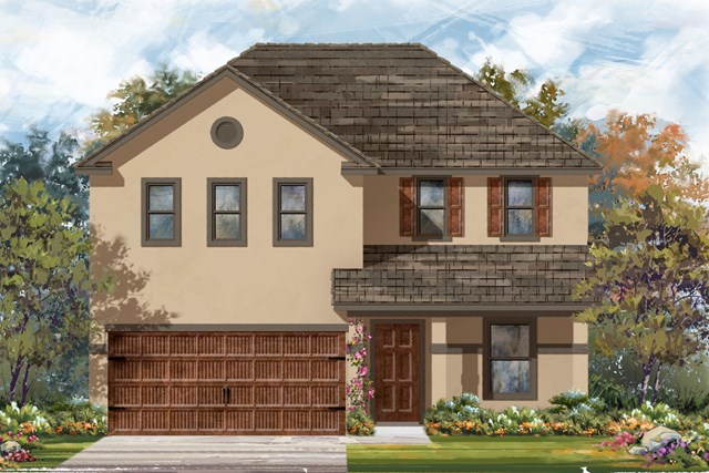 New Homes in Bastrop, TX - Plan E-2403 K