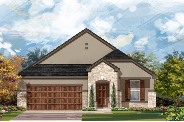 New Homes in Bastrop, TX - Plan A-1792 D