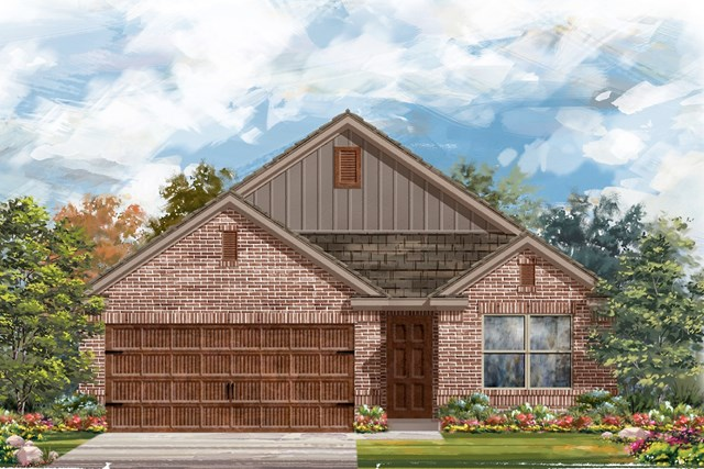 New Homes in Bastrop, TX - Plan E-1647 I