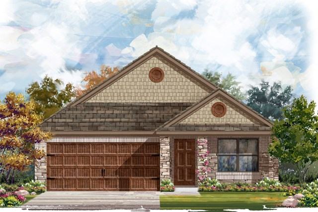 New Homes in Bastrop, TX - Plan E-1647 J