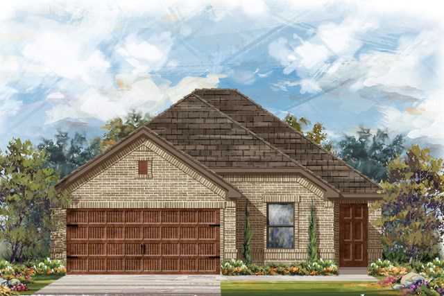 New Homes in Bastrop, TX - Plan E-1694 H