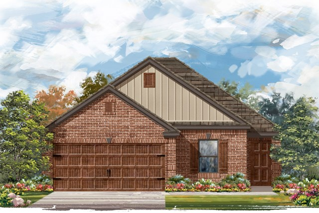 New Homes in Bastrop, TX - Plan E-1694 I