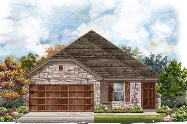 New Homes in Bastrop, TX - Plan E-1694 J