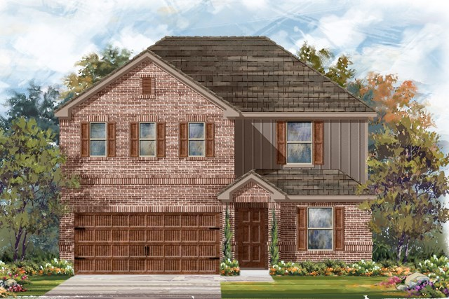 New Homes in Bastrop, TX - Plan E-2403 H