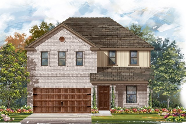 New Homes in Bastrop, TX - Plan E-2403 I