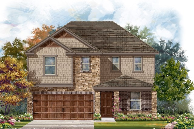 New Homes in Bastrop, TX - Plan E-2403 J