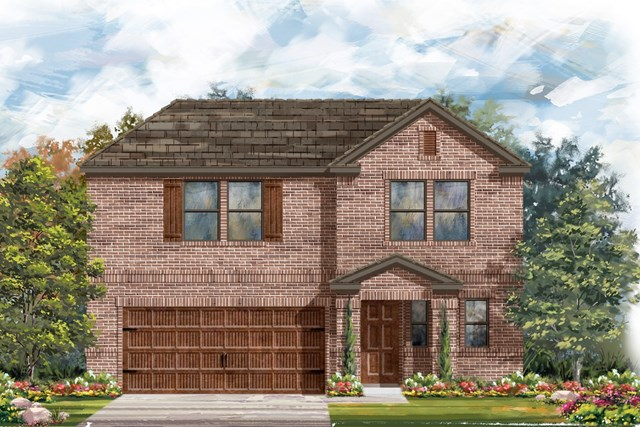 New Homes in Bastrop, TX - Plan E-2412 I
