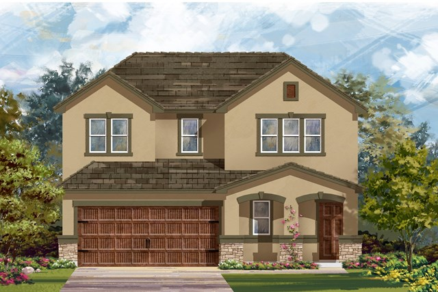 New Homes in Bastrop, TX - Plan E-2516 K
