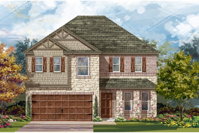 New Homes in Bastrop, TX - Plan E-2898 J