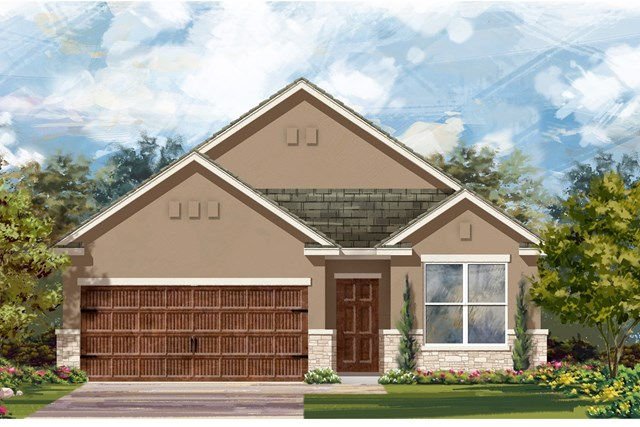 New Homes in Bastrop, TX - Plan E-1647 K