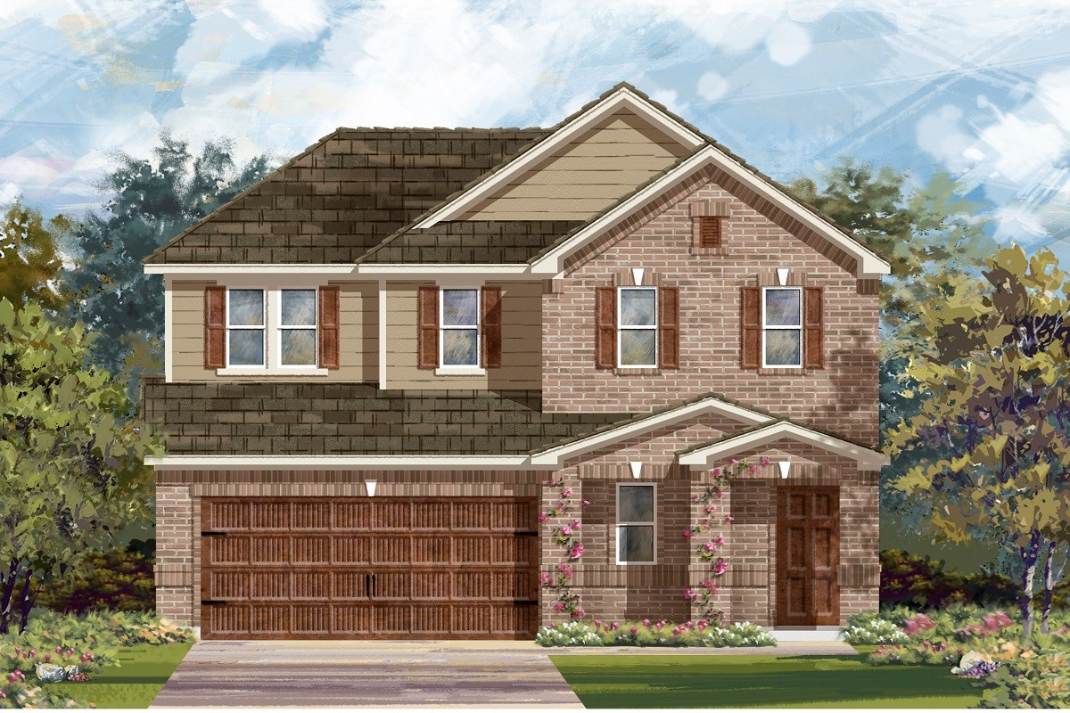 New Homes in Bastrop, TX - Piney Creek Bend Plan E-2516