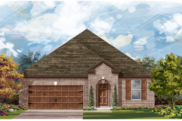 New Homes in Bastrop, TX - Plan A-2089 A