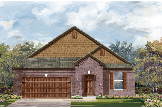 New Homes in Bastrop, TX - Plan A-2089 B
