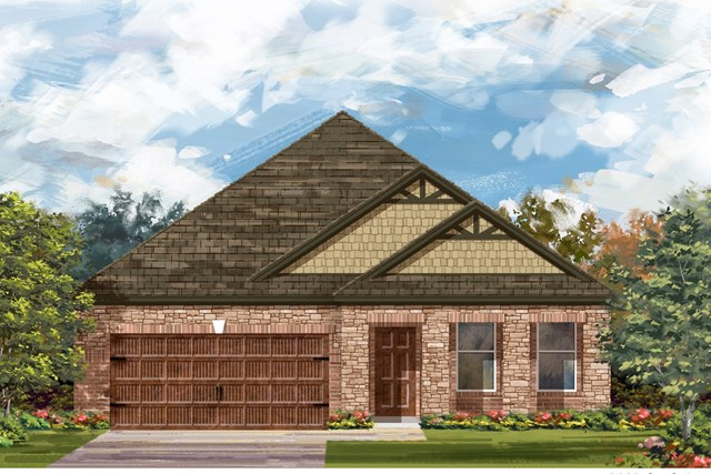New Homes in Bastrop, TX - Plan A-2089 C