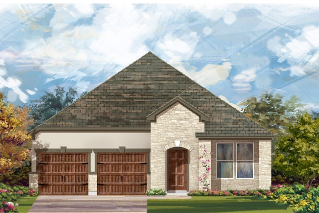 New Homes in Bastrop, TX - Plan A-2089 D