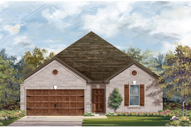 New Homes in Bastrop, TX - Plan A-2382 B
