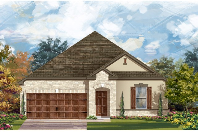 New Homes in Bastrop, TX - Plan A-2382 D