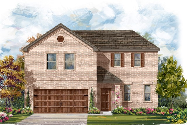 New Homes in Bastrop, TX - Plan A-2502 A