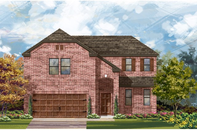 New Homes in Bastrop, TX - Plan A-2502 B