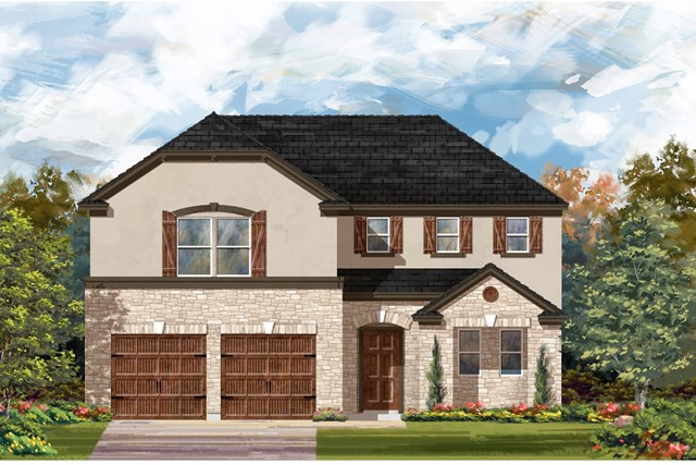New Homes in Bastrop, TX - Plan A-2502 D