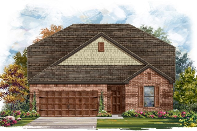 New Homes in Bastrop, TX - Plan A-2655 A