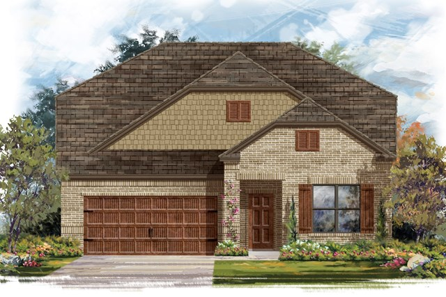 New Homes in Bastrop, TX - Plan A-2655 B