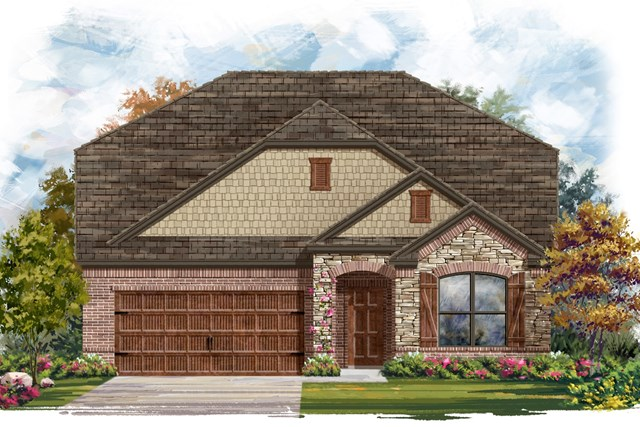 New Homes in Bastrop, TX - Plan A-2655 C