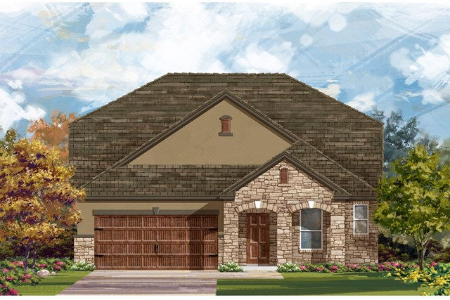 New Homes in Bastrop, TX - Plan A-2655 D