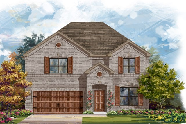New Homes in Bastrop, TX - Plan A-2755 A