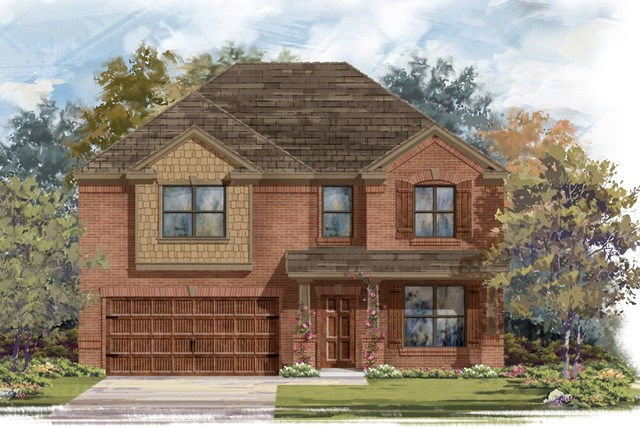 New Homes in Bastrop, TX - Plan A-2755 B