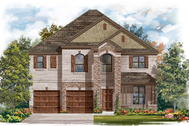 New Homes in Bastrop, TX - Plan A-2755 C