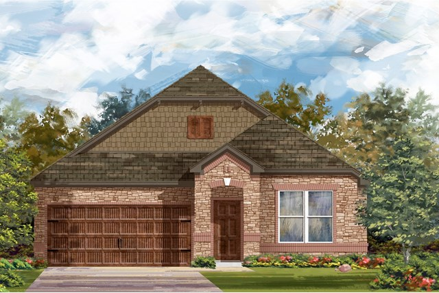 New Homes in Bastrop, TX - Plan A-1491 C