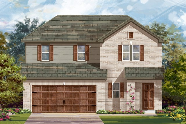 New Homes in Bastrop, TX - Plan E-2516 H