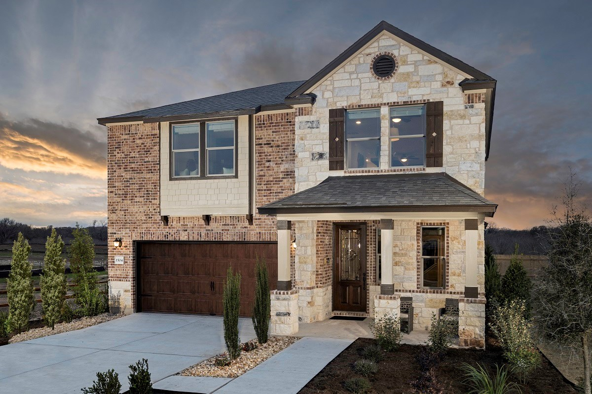 New Homes in Bastrop, TX - Piney Creek Bend Plan E-2412