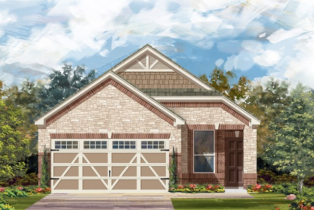 New Homes in Round Rock, TX - Plan F-1340 K