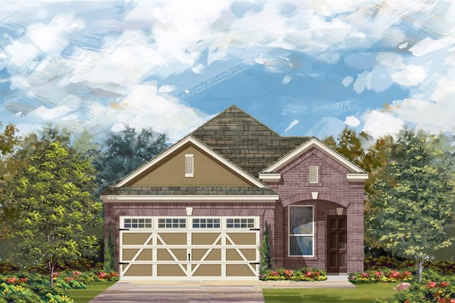 New Homes in Round Rock, TX - Plan F-1340 L