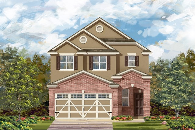 New Homes in Round Rock, TX - Plan F-1601 L