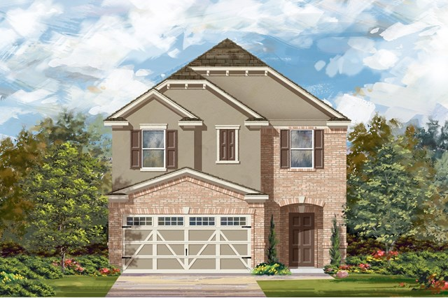 New Homes in Round Rock, TX - Plan F-1771 L