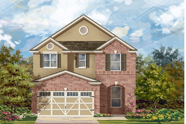 New Homes in Round Rock, TX - Plan F-2411 L