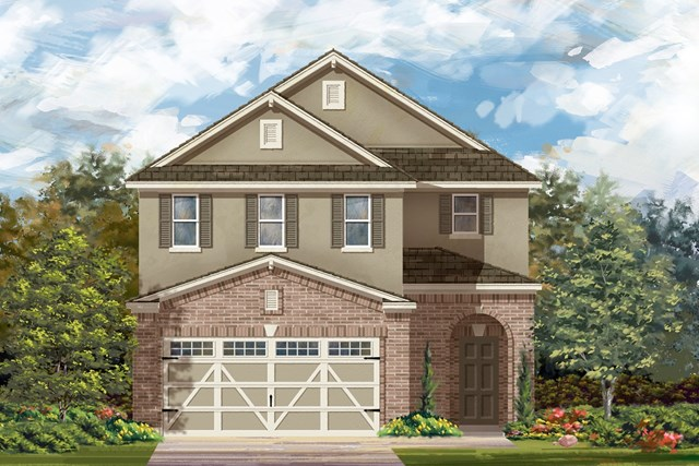 New Homes in Round Rock, TX - Plan F-2604 L