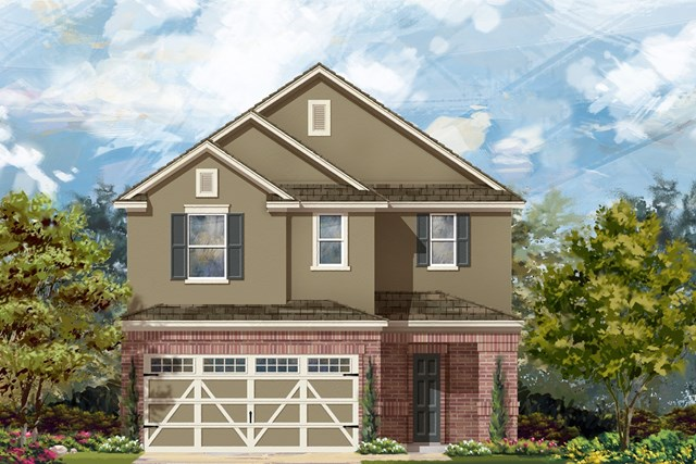 New Homes in Round Rock, TX - Plan F-2708 L