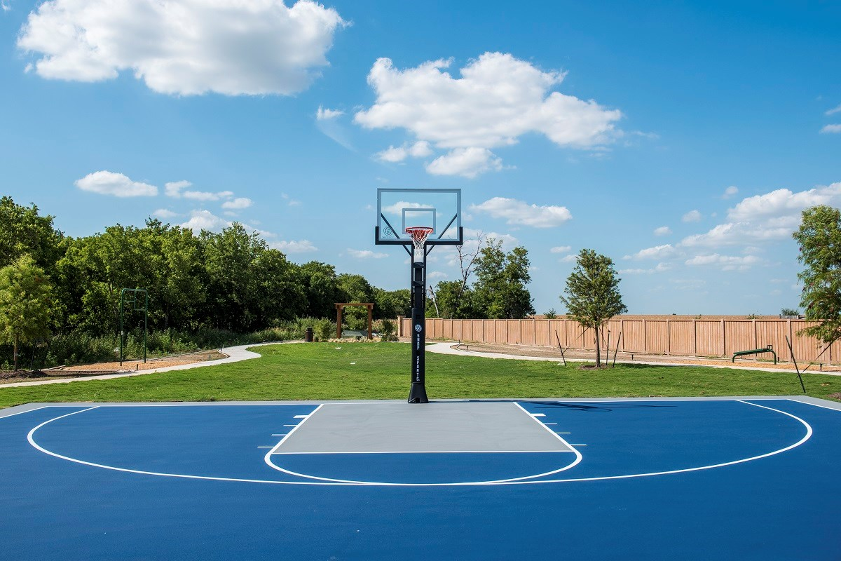 New Homes in Round Rock, TX - Pioneer Point Community Basketball Court