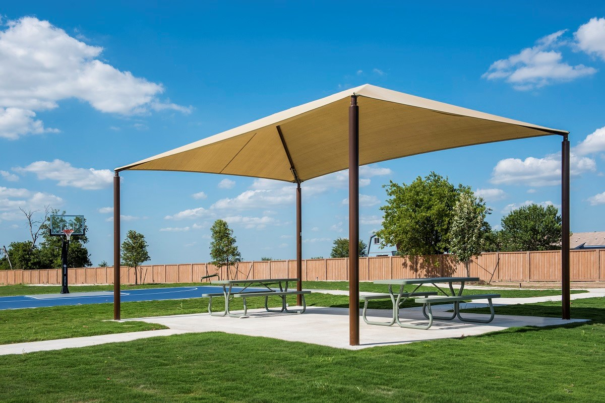 New Homes in Round Rock, TX - Pioneer Point Community Park Pavilion