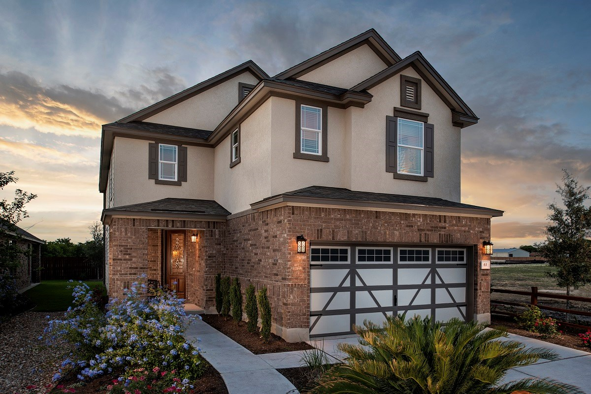 New Homes in Round Rock, TX - Pioneer Point Plan F-2708