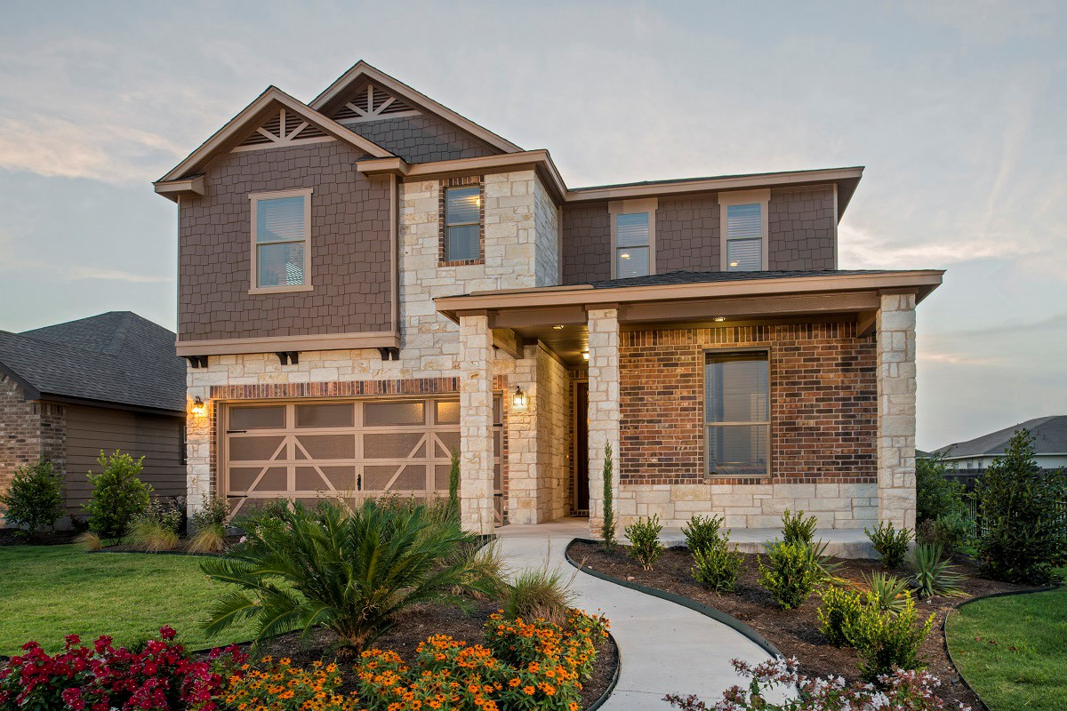 New Homes in Del Valle, TX - The Trails at Stoney Ridge Plan E-2403